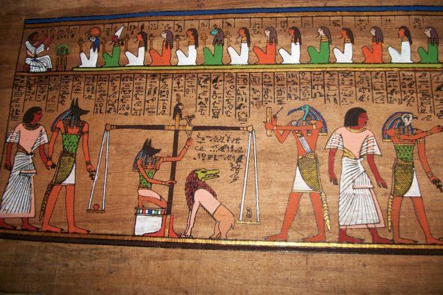 Египетский бог Анубис (реферат)