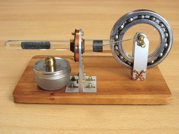 Модель двигателя стирлинга как сделать 5