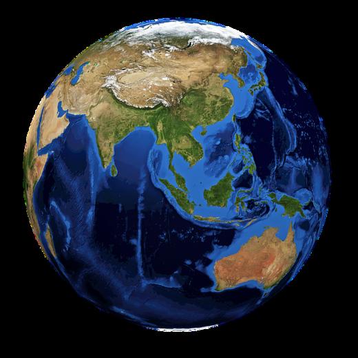 Материки южного полушария