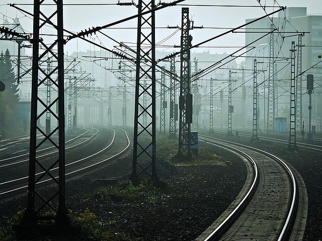 Построение железнодорожной линии
